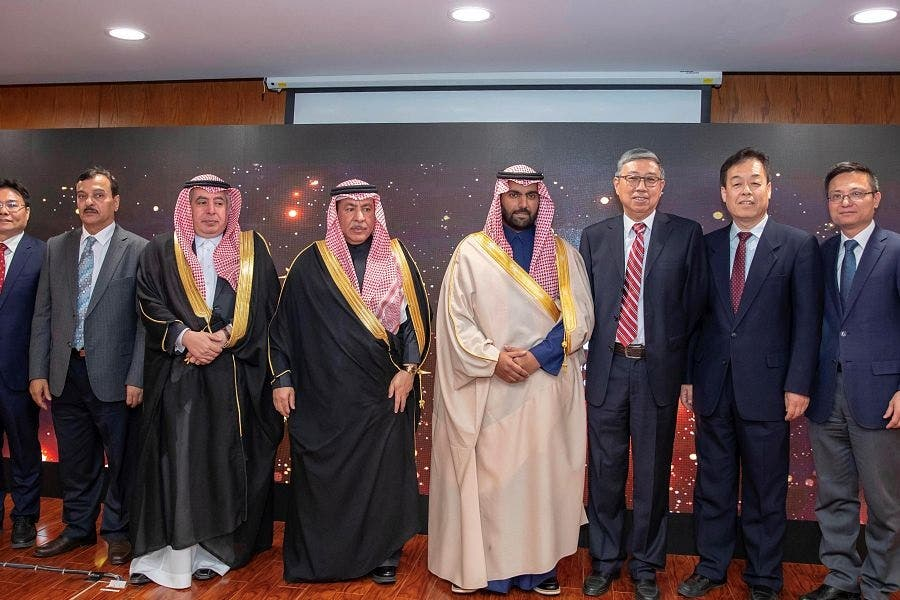 Saudi Minister of Culture Prince Badr bin Abdullah bin Farhan in China1 (SPA)