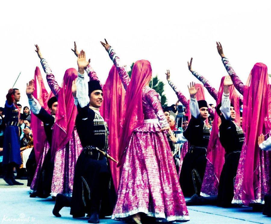 فلکلور ترکی آذربایجانی