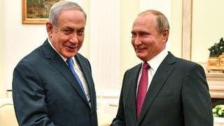 بوتين ونتنياهو يبحثان الأربعاء التموضع الإيراني بسوريا