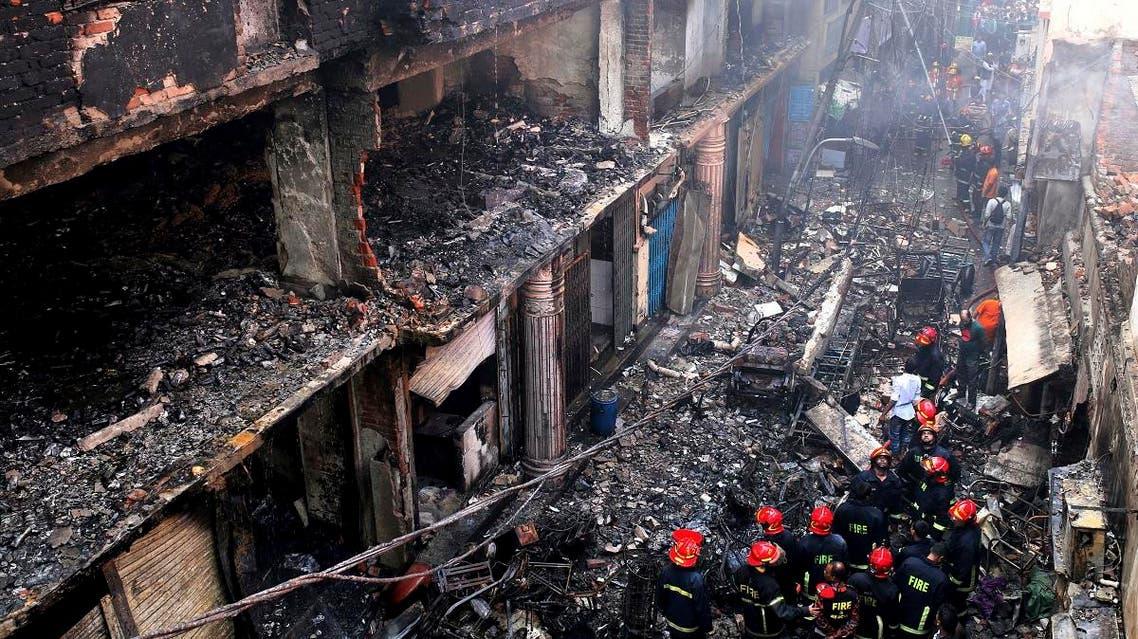 Bangladesh, Dhaka fire 1 (AP)