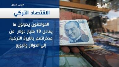 مواطنون يفقدون ثقتهم باقتصاد تركيا.. والمدخرات بالدولار