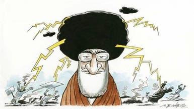 كاريكاتير خامنئي يتفاعل لبنانياً..  ملاحقة إعلاميين
