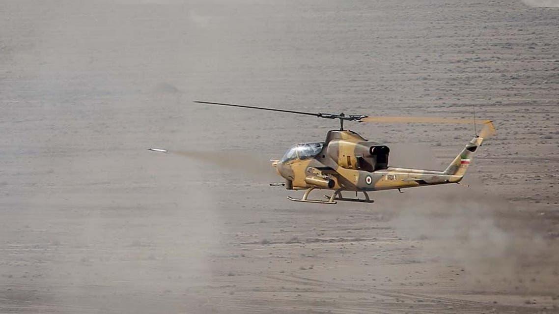 Iran military exercises (AFP)