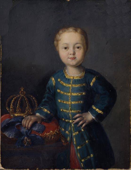 صورة للإمبراطور الطفل إيفان السادس