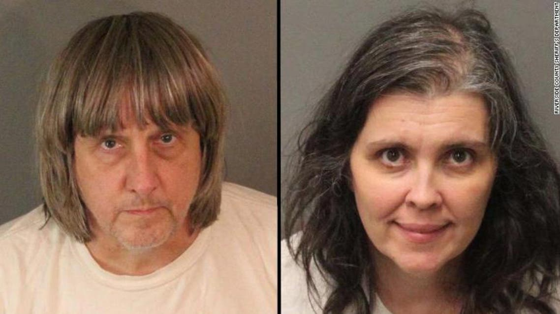 california parents charged with child torture, abuse (social media)