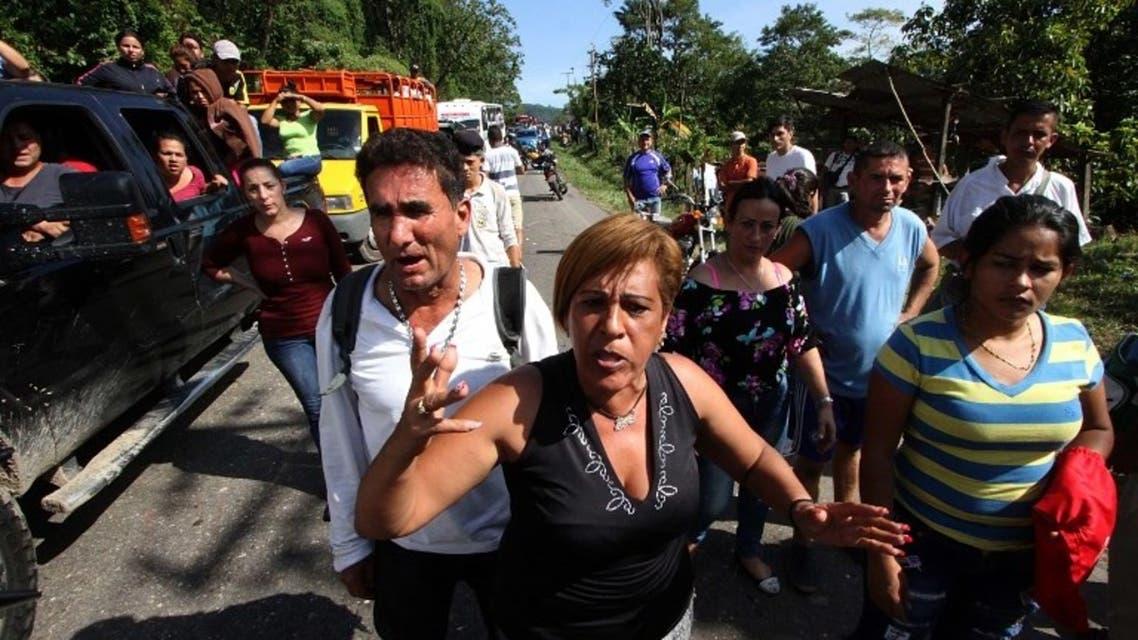 من تظاهرات فنزويلا