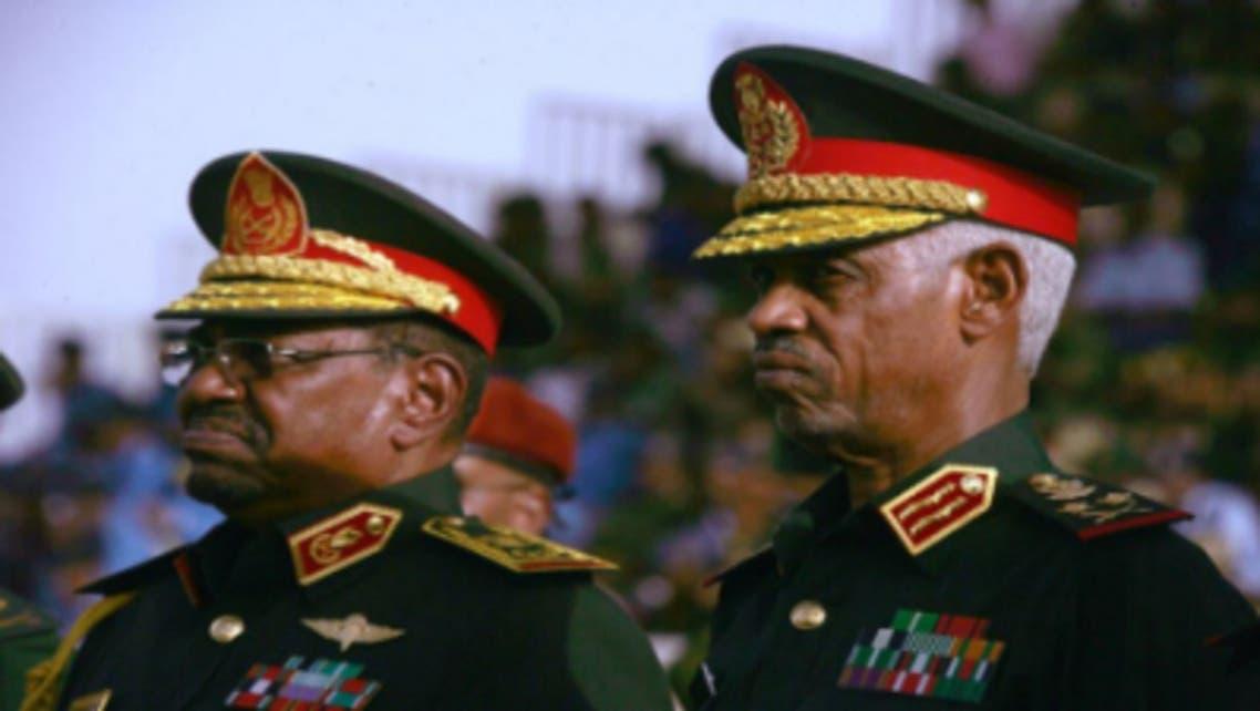 البشير ووزير دفاع السودان