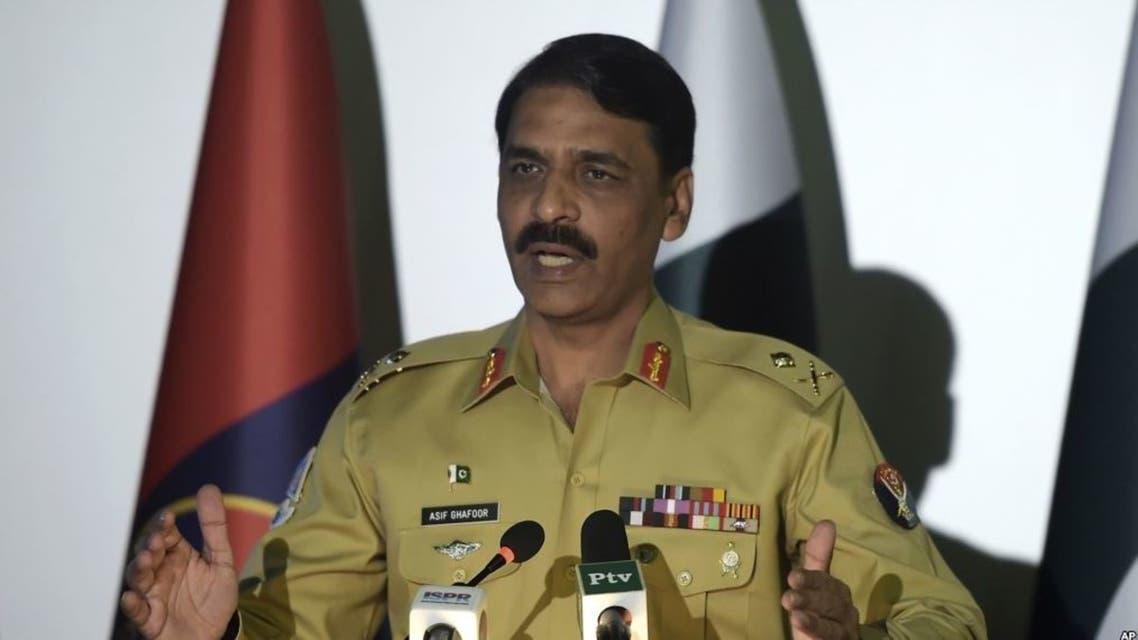 المتحدث باسم الجيش الباكستاني