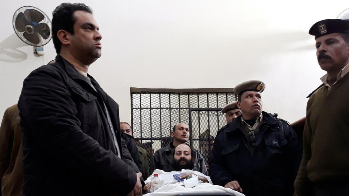 Egypt monk Ramon Rasmi Mansour killing death penalty (Reuters)