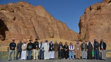 Saudi artists gather in al-Ula for live art show inspired by its beauty