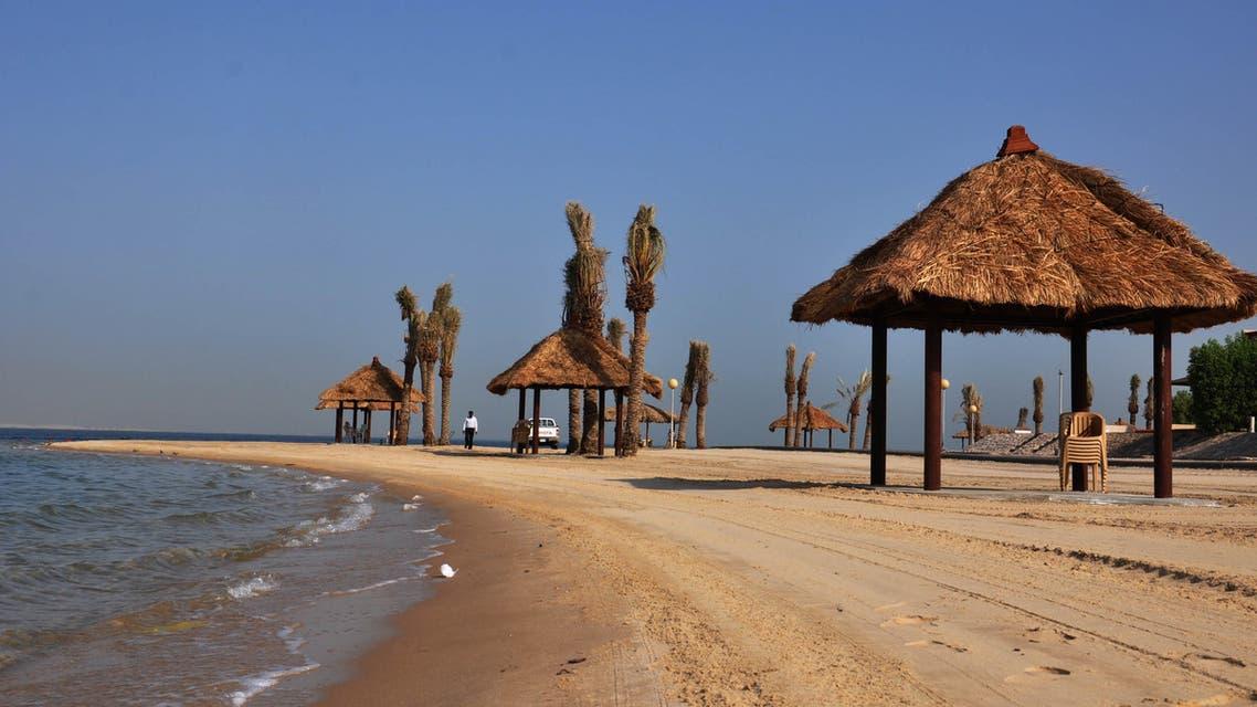 منتجع شاطئ النخيل بالسعودية
