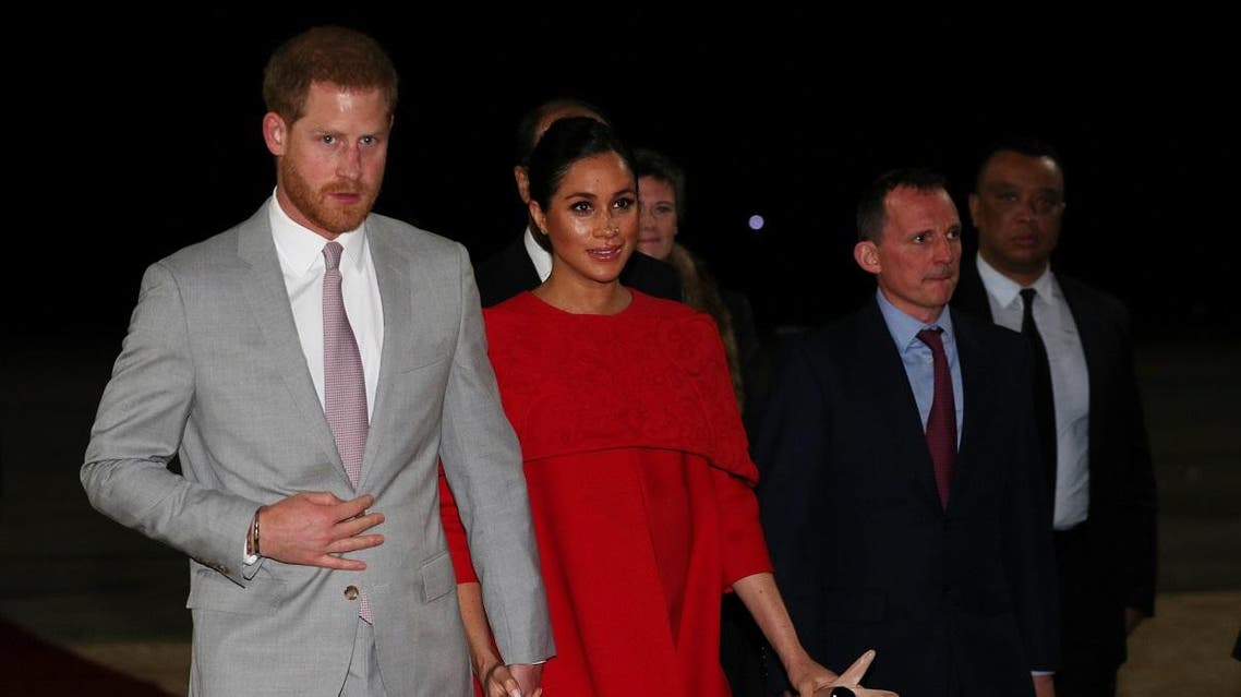 Prince Harry and Meghan Markle in Morocco. (Reuters)
