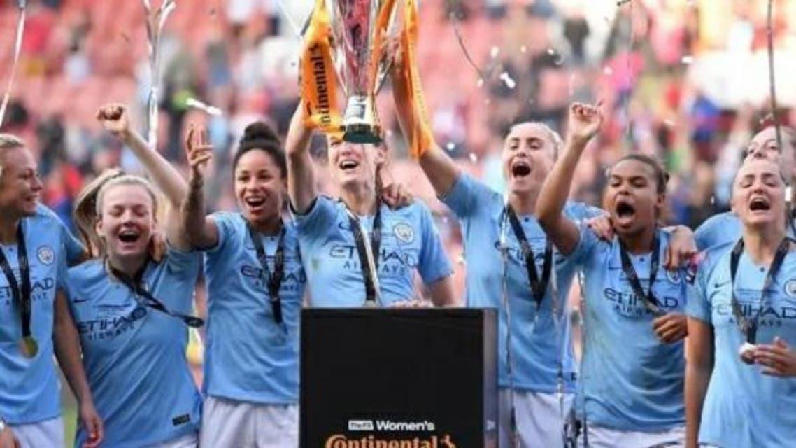 تیم منچسترسیتی زنان برای سومین بار قهرمان اروپا شد