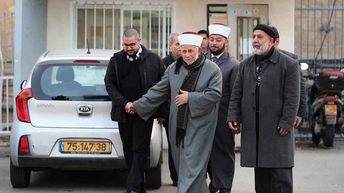 Sheikh Abdel-Azeem Salhab al-Aqsa mosque Jerusalem (Reuters)