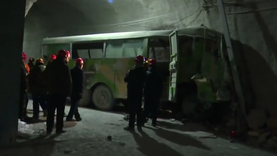 China mining accident kills 21. (Reuters)
