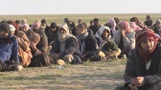 شرق الفرات.. 350 داعشياً يسلمون أنفسهم إلى قسد