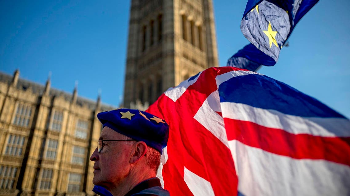 The British government is considering different options on what to do if parliament fails to approve Theresa May's deal to leave the EU by March 12. (File photo: AFP)