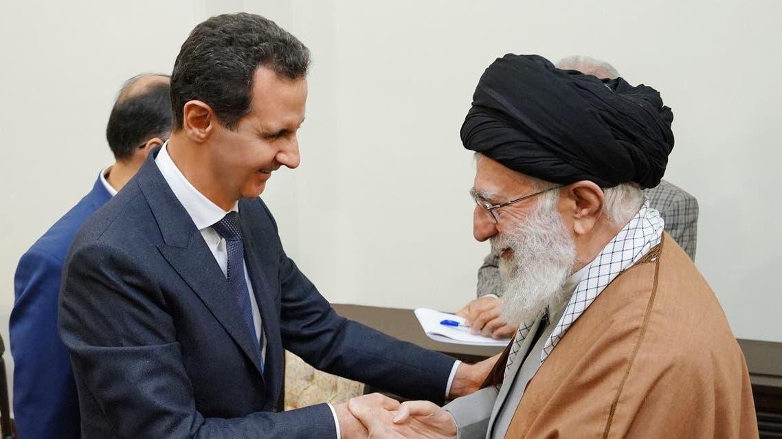 ASSAD IRAN (AFP)