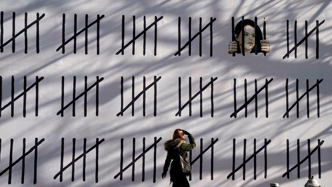 Banksy-backed Kurdish journalist Zehra Dogan (AFP)