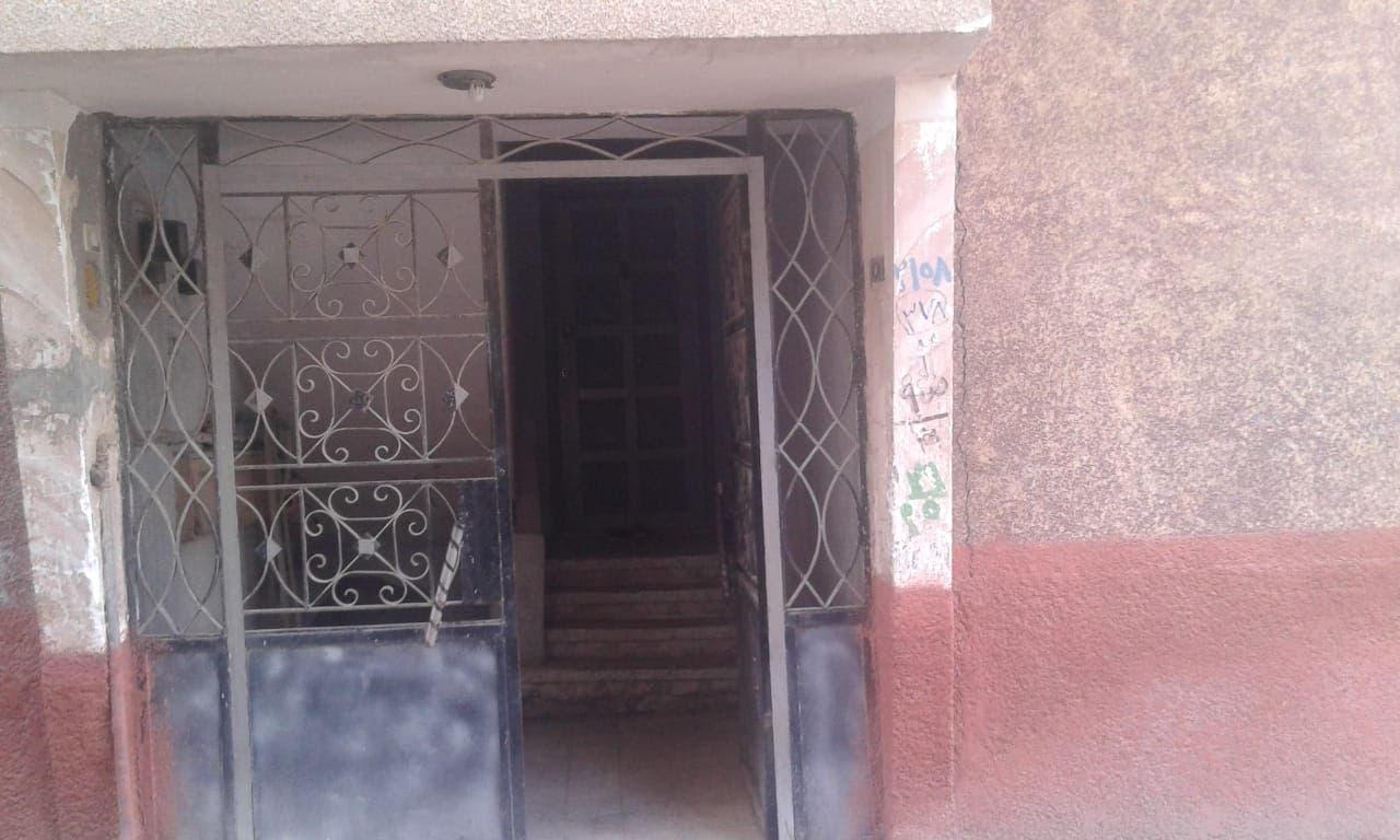 مدخل منزل عائلة رامي