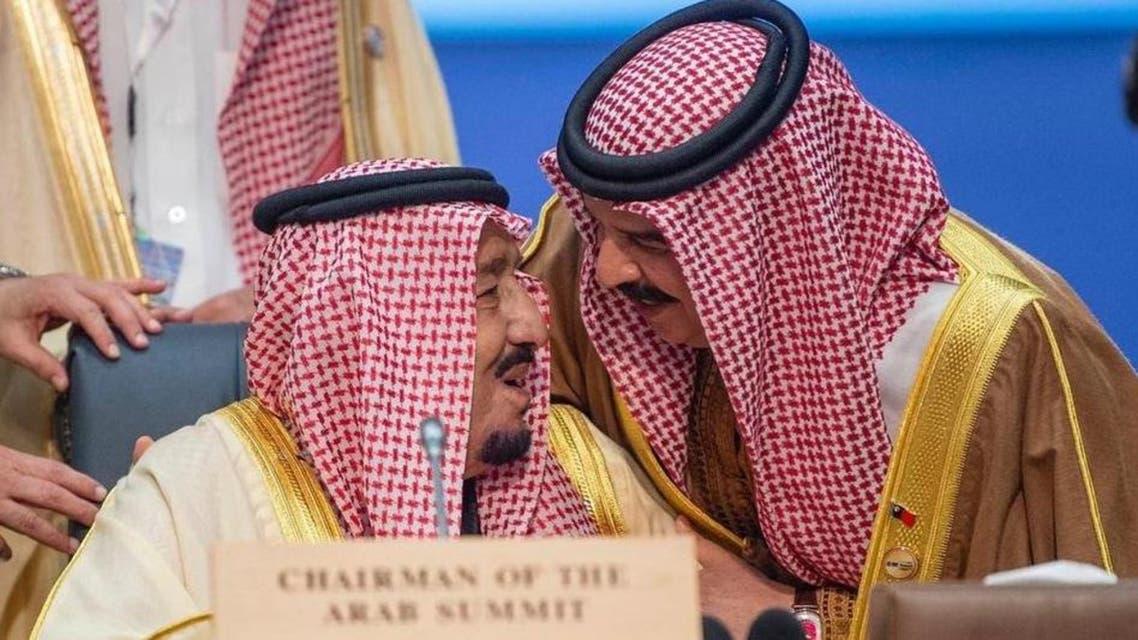 Shah slaman and Shah Hamd bin Easa