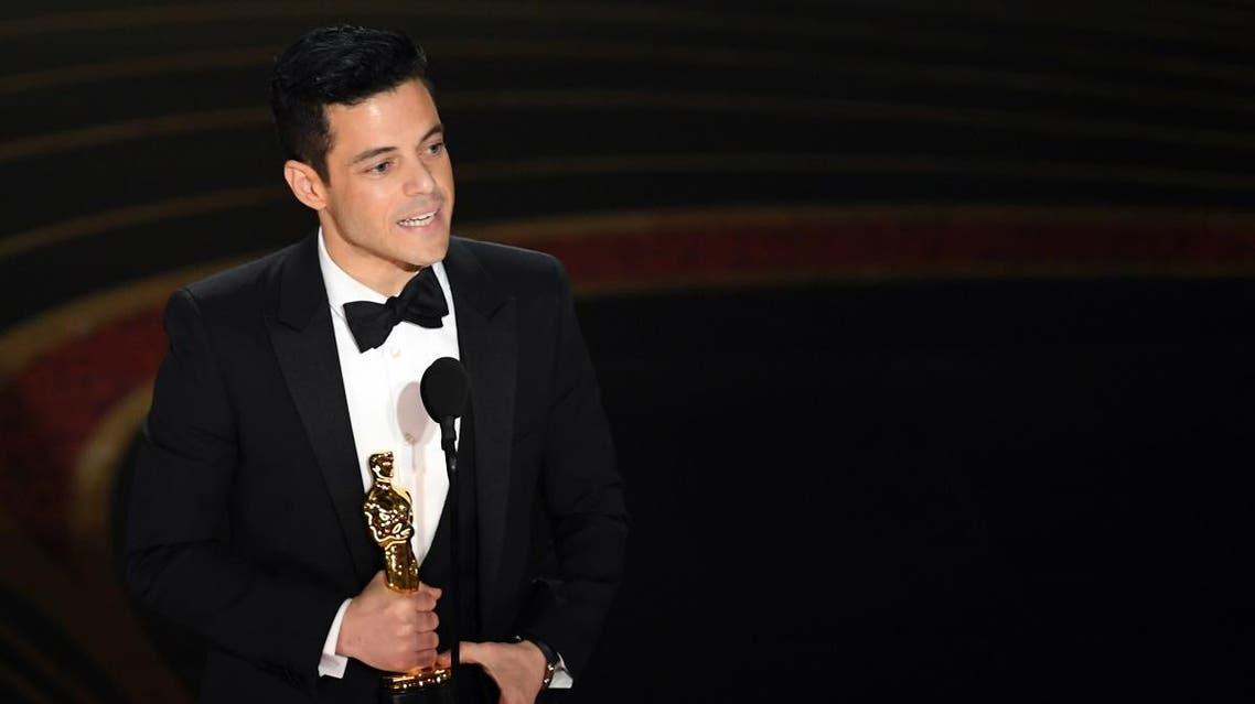 Rami Malek Oscars. (AFP)