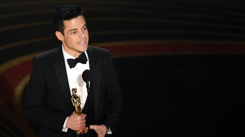 49267df3a6c Rami Malek on Sunday took home the best actor Oscar for his wildly popular  portrayal of late Queen frontman Freddie Mercury. (AFP)