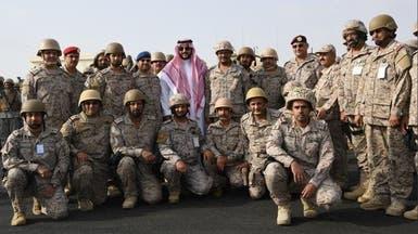 خالد بن سلمان يزور القوات المرابطة بالحد الجنوبي