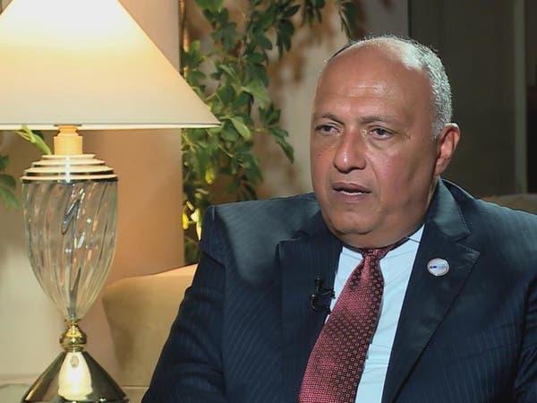 شكري: أزمة قطر باقية حتى تنفيذ مطالب الدول الأربع