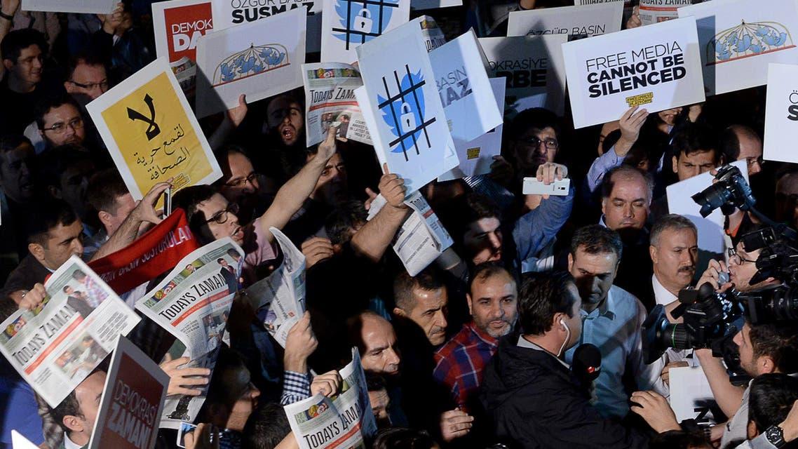 حرية الصحافة تركيا