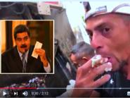 بسبب هذا الفيديو ألغى مادورو المقابلة واعتقل الصحافيين
