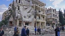 Air strikes up sharply in rebel-held northwest Syria - monitors