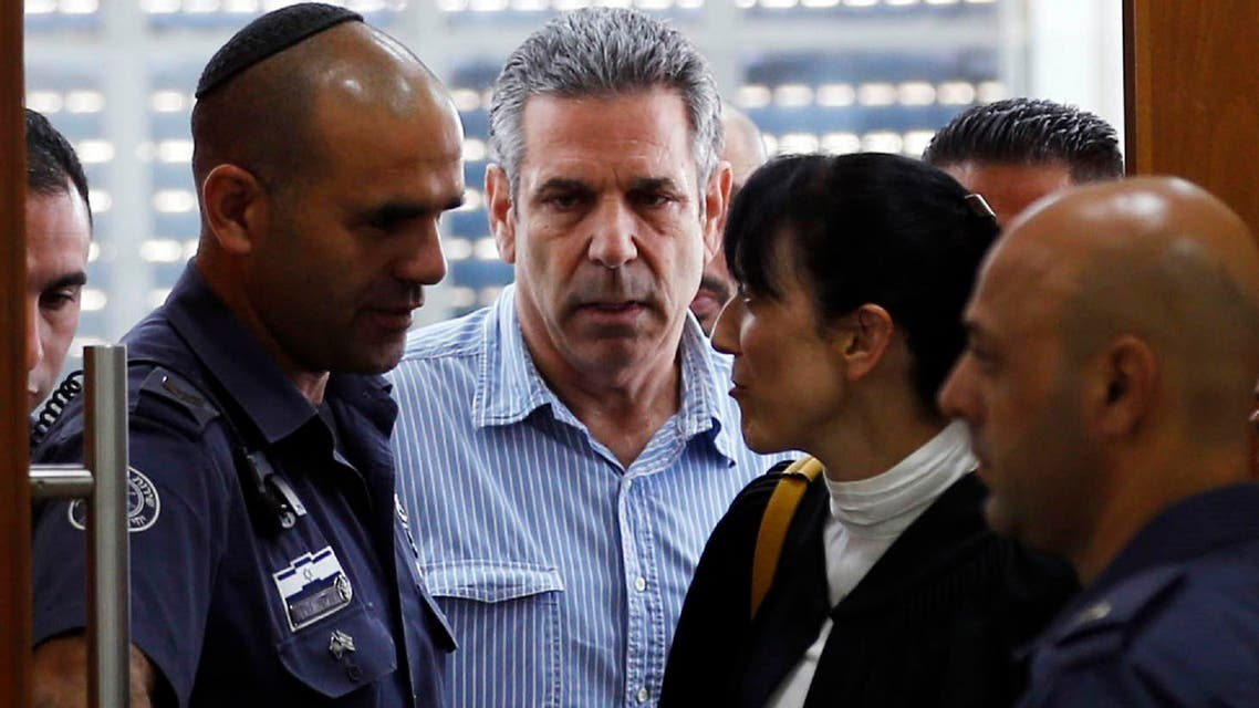 Gonen Segev was sentenced to 11 years in prison for spying for his country's main enemy Iran. (AFP)