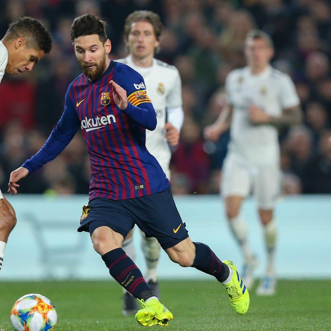 رئيس ريال مدريد يكشف حقيقة علاقته برحيل ميسي