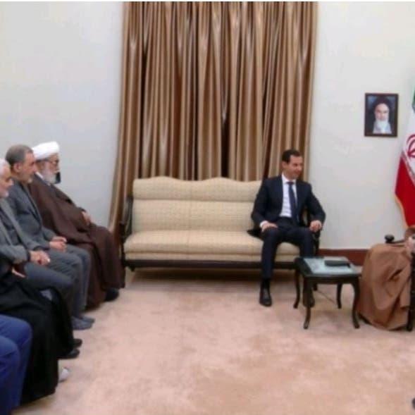 لقاء خامنئي والأسد.. غياب روحاني وحضور قاسم سليماني