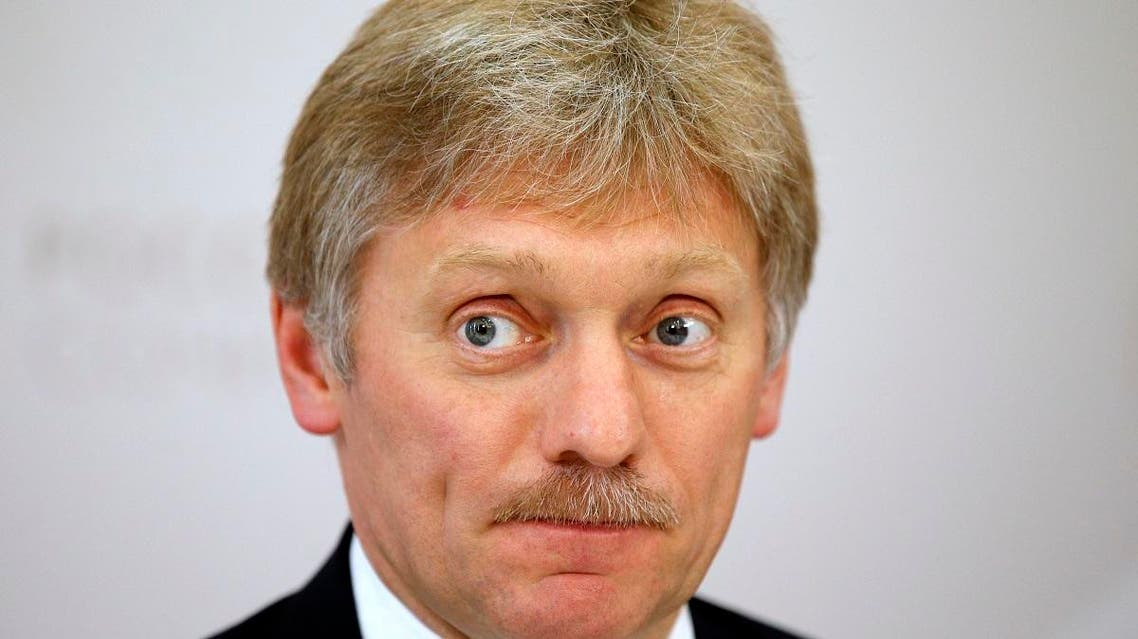 Russian President Vladimir Putin's press secretary Dmitry Peskov listens for a question during his news conference at the ASEAN – Russia summit, in the Black Sea resort of Sochiin Sochi, Russia, Thursday, May 19, 2016. (AP)