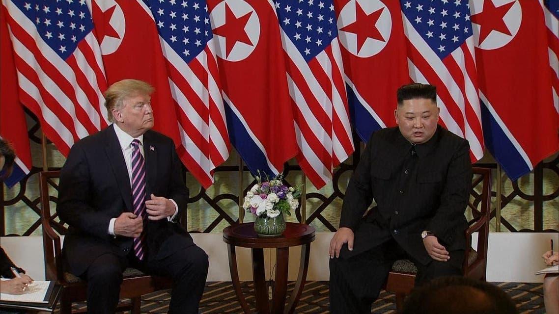 كيم وترمب يلتقيان مرة ثانية