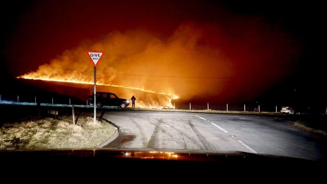 حريق مانشستر الكبرى