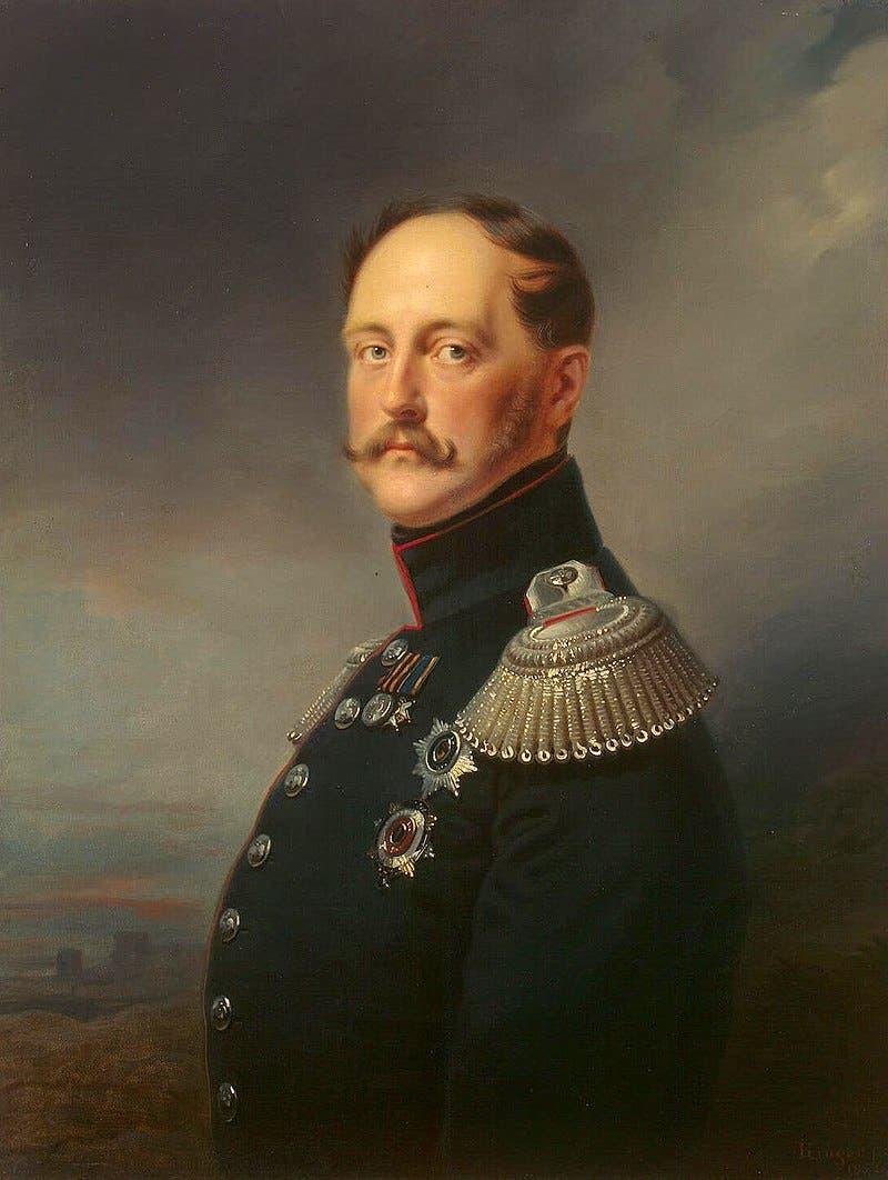 صورة للقيصر الروسي نيقولا الأول