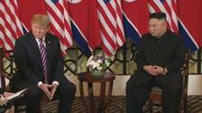 ہینوے سربراہ ملاقات ناکام : ٹرمپ اور کم یونگ اُن نے اپنی اپنی راہ لے لی