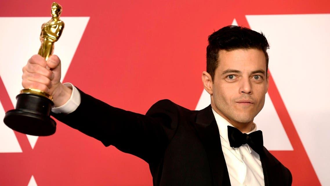 Rami Malek at the 91st Annual Academy Awards on February 24, 2019. (AFP)