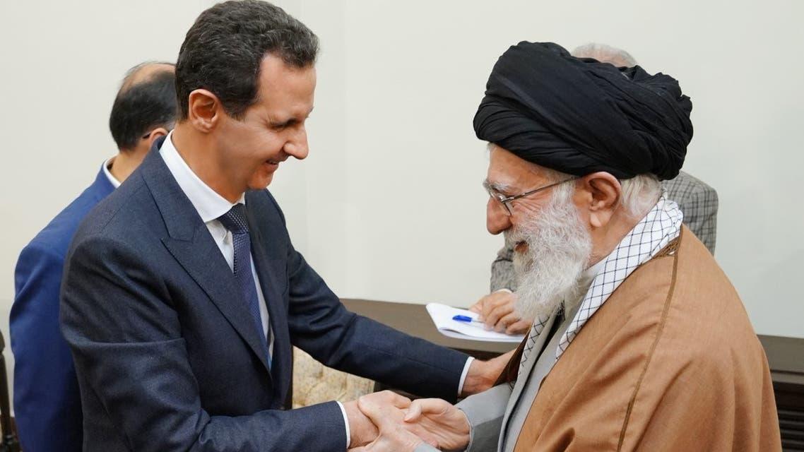 الأسد وخامنئي