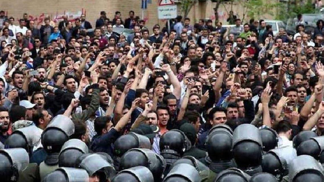 من احتجاجات إيران 2018