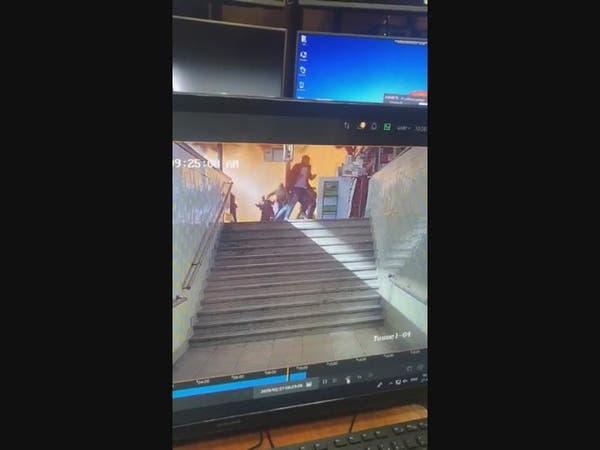فيديو يكشف اللحظات الأولى لحادث قطار مصر