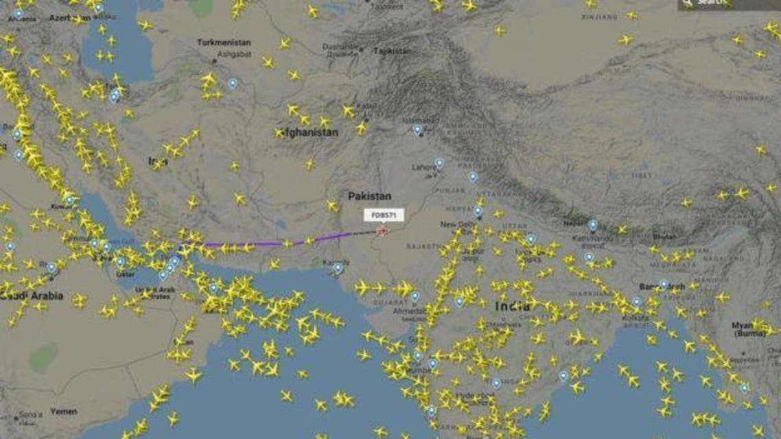 no commercial flt in pak airspace