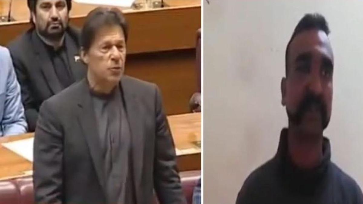 عمران خان اور بھارتی پائلٹ