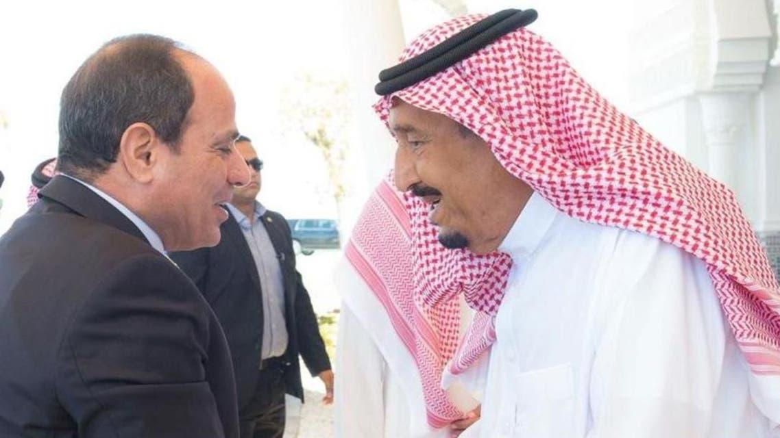 Saha Salman and abdulfatah sisi