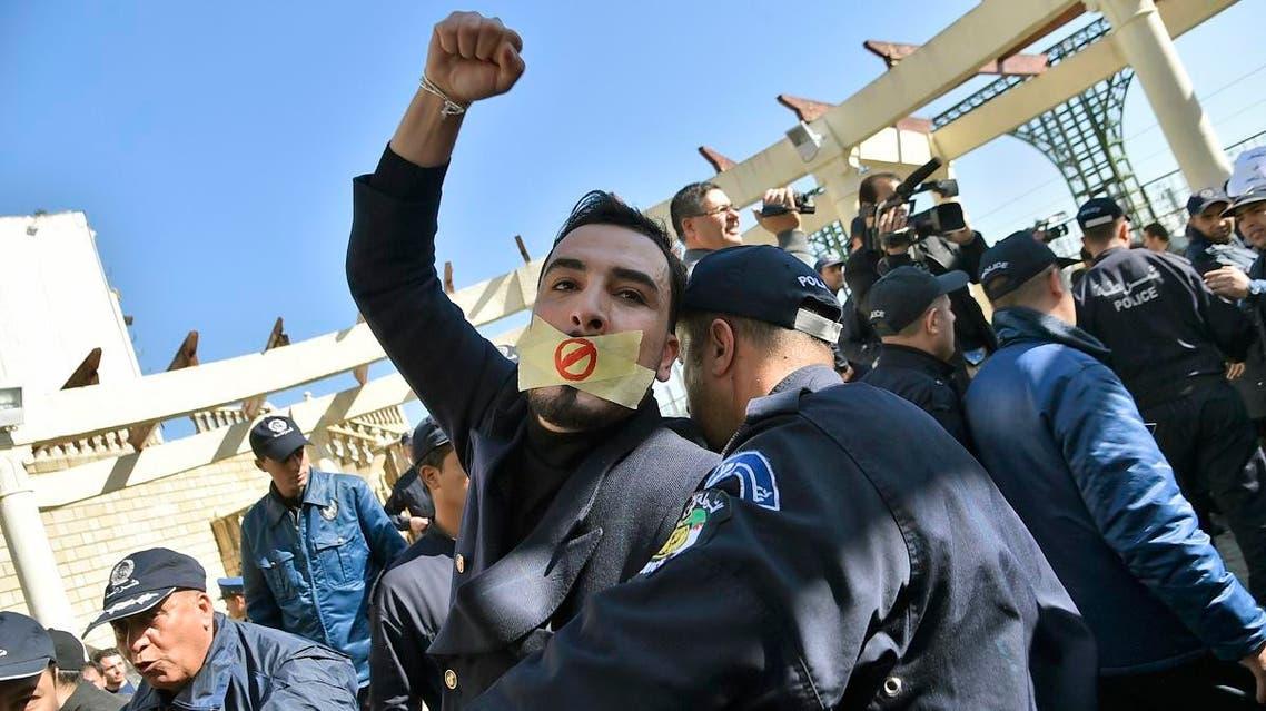 Algeria protest (AFP)