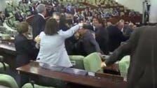 الجزائری پارلیمنٹ مچھلی منڈی بن گئی، ارکان میں ہاتھا پائی