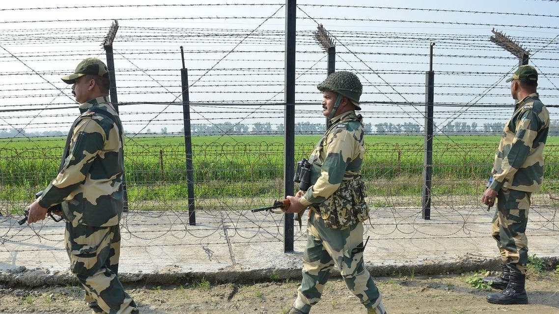 Indian army on kashmir border (AFP)